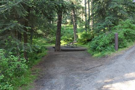 Kamiak Butte County Park Camping Space