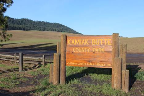 Kamiak Butte County Park Sign